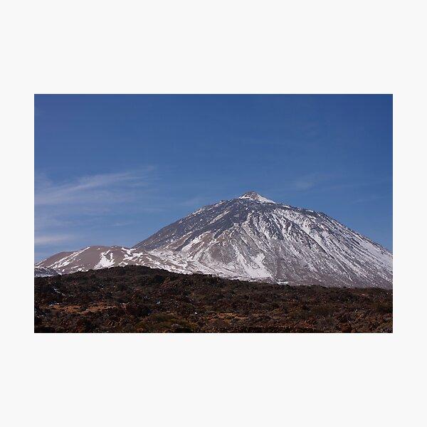 Mount Teide Photographic Print