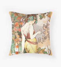 Alphonse Mucha (1860 – 1939) Artwork 4. Floor Pillow