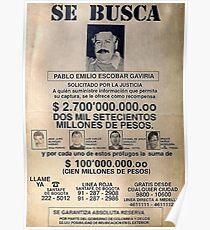 Pablo Escobar wollte Original Poster