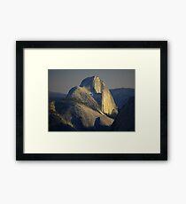 Half Dome At Sunset Framed Print