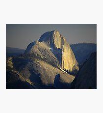 Half Dome At Sunset Photographic Print
