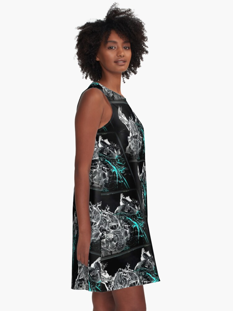 Alternate view of GalaxyX.. Soo Abstract !! XD   A-Line Dress