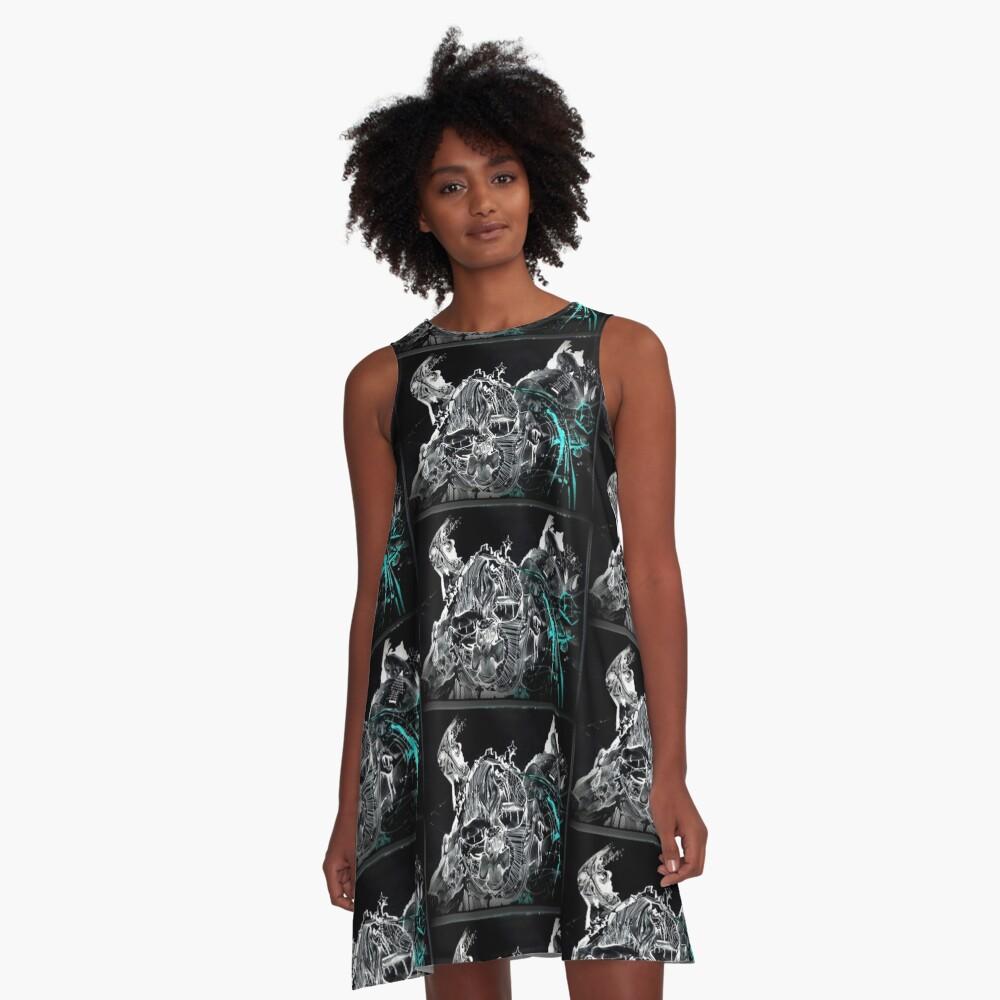 GalaxyX.. Soo Abstract !! XD   A-Line Dress