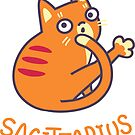 Funny Sagittarius Cat Horoscope Tshirt - Astrology and Zodiac Gift Ideas! by Banshee-Apps