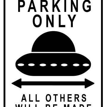 UFO Parking by TheArtArmature