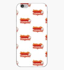 Wingman Hot Wings Cartoon Slogan iPhone Case