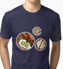 Breakfast Tri-blend T-Shirt