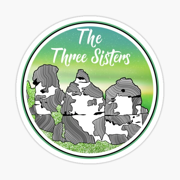 The Three Sisters Sticker
