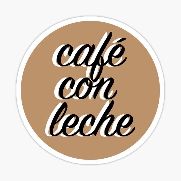 Cafe con leche v1 Sticker