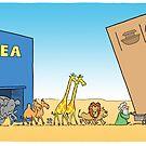Ikea Ark by timtoons