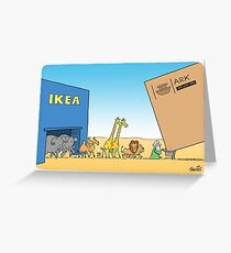 Ikea Ark Greeting Card