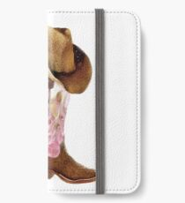Cowgirl boots iPhone Wallet/Case/Skin