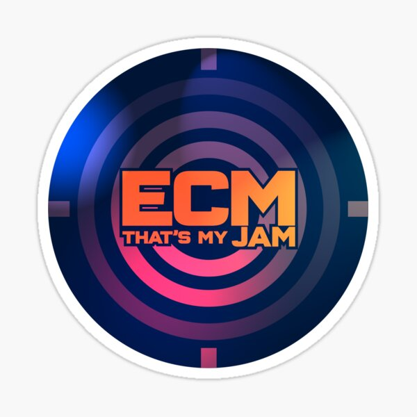 ECM That's My JAM (Alternative) Sticker