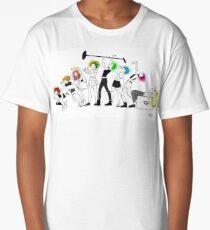 Hayley Williams Rainbow Hair Evolution Long T-Shirt