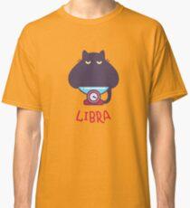Funny Libra Cat Horoscope Tshirt - Astrology and Zodiac Gift Ideas! Classic T-Shirt
