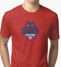 Funny Libra Cat Horoscope Tshirt - Astrology and Zodiac Gift Ideas! Tri-blend T-Shirt