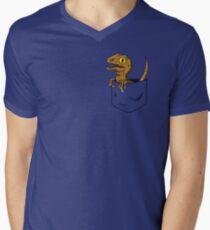 Pocket Raptor T-Shirt Men's V-Neck T-Shirt