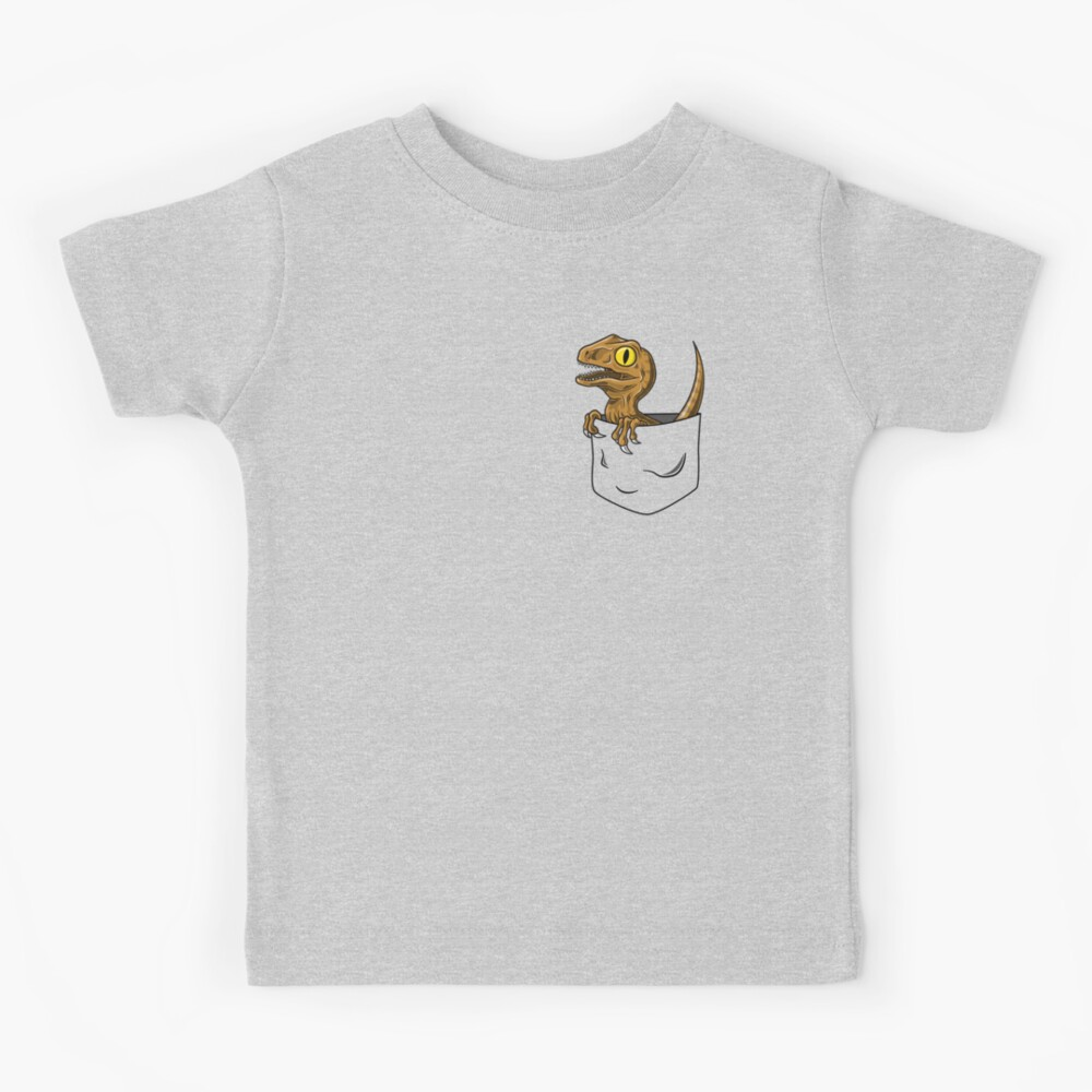Pocket Raptor T-Shirt Kids T-Shirt