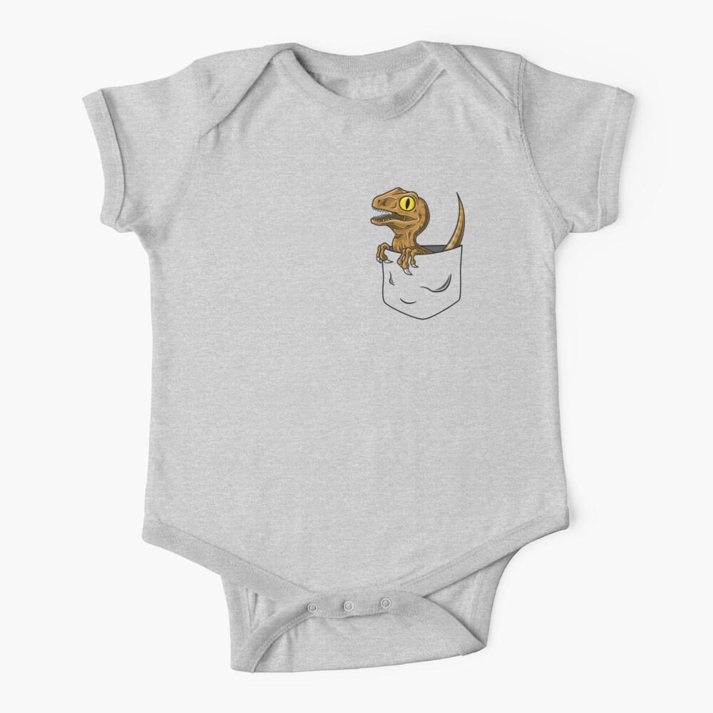Pocket Raptor T-Shirt Baby One-Piece