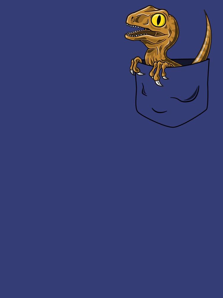 Pocket Raptor T-Shirt | Unisex T-Shirt