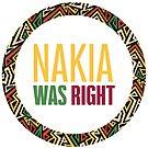 Nakia was right  by monarchvisual