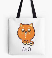 Funny Leo Cat Horoscope Tshirt - Astrology and Zodiac Gift Ideas! Tote Bag