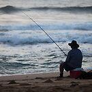 Sunrise Fishing by Nadine Rippelmeyer