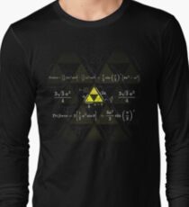 Tri-gonometry Long Sleeve T-Shirt
