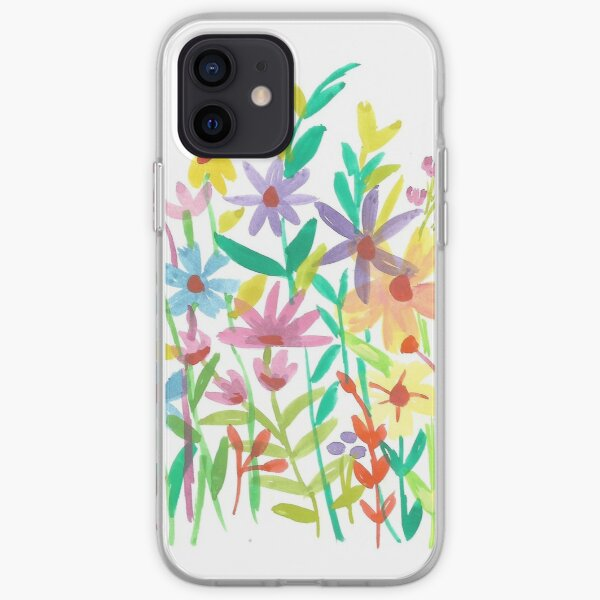 Floral Art iPhone Soft Case