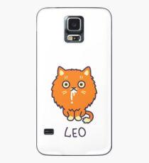 Funny Leo Cat Horoscope Tshirt - Astrology and Zodiac Gift Ideas! Case/Skin for Samsung Galaxy