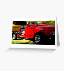 Red Hot Bucket Greeting Card
