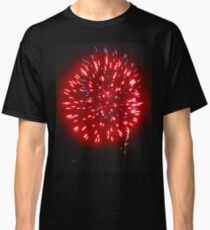 red fire in the sky Classic T-Shirt