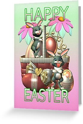 Happy Easter Card by LoneAngel