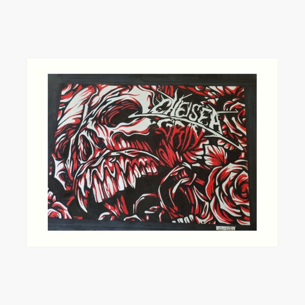 Chelsea grin artwork Art Print
