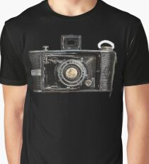 Legendary Camera and moon Graphic T-Shirt