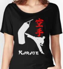 Karate Dark Women's Relaxed Fit T-Shirt