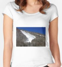 Ski Slope Women's Fitted Scoop T-Shirt