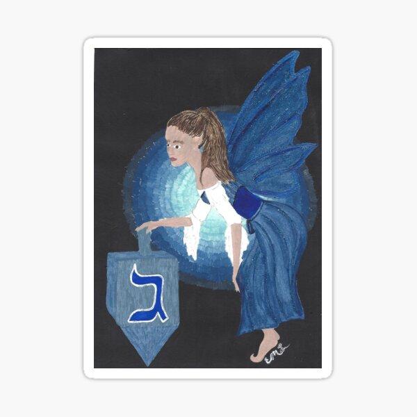Hanukkah Fairy Sticker