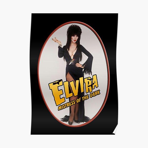 Elvira Portrait Poster