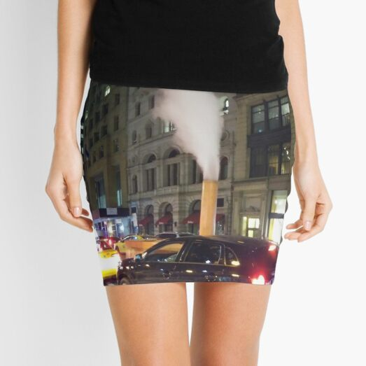 New York, Manhattan, Brooklyn, New York City, architecture, street, building, tree, car,   Mini Skirt