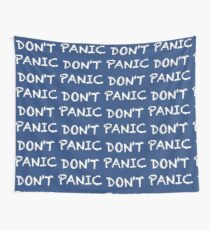 DON'T PANIC Wall Tapestry