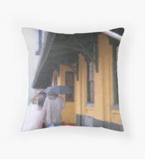 The Commuter Throw Pillow