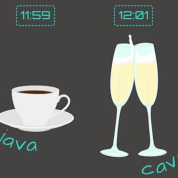 Beverage Time! Java & Cava by wickedgloss