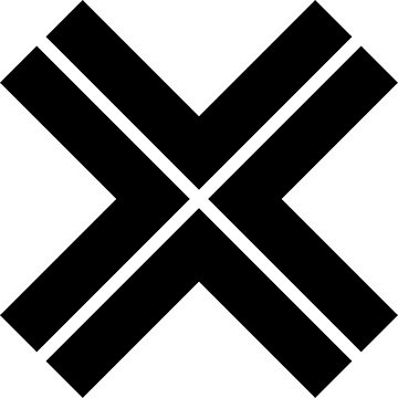X-cross pattern_1 by designseventy