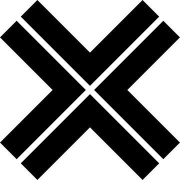 X-cross pattern_1 by designseventy