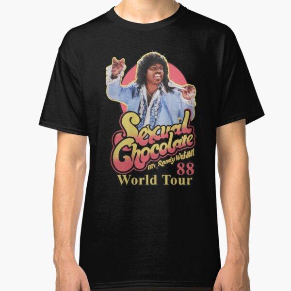 RANDY WATSON - SEXUAL CHOCOLATE WORLD TOUR 88 Classic T-Shirt