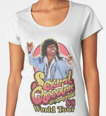 RANDY WATSON - SEXUAL CHOCOLATE WORLD TOUR 88 Women's Premium T-Shirt