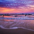 End of the surfing day by Ken Wright