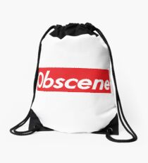 Obscene Drawstring Bag
