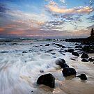 Stone washed dusk by Ken Wright